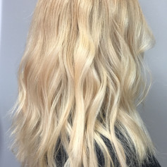 Bleach and tone, copper root smudge, haircut, blowdry and style.   Leilani Artistry Studio - Coral Springs, Florida   Broward County's best hair and makeup salon.