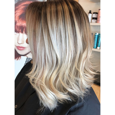 Full balayage, hair cut, blowdry and style.   Leilani Artistry Studio - Coral Springs, Florida   Broward County's best hair and makeup salon.
