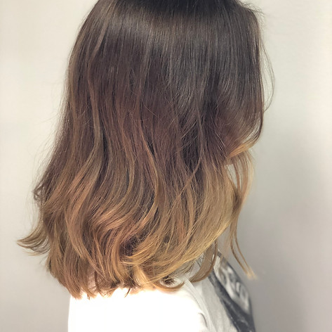 Ombre, haircut, blowdry and style.   Leilani Artistry Studio - Coral Springs, Florida   Broward County's best hair and makeup salon.