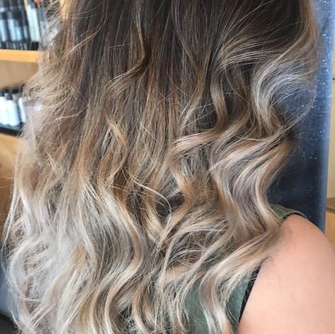 Full balayage, haircut, blowdry and style.   Leilani Artistry Studio - Coral Springs, Florida   Broward County's best hair and makeup salon.