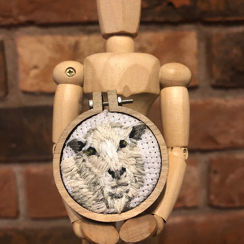 Sheep Embroidered Accessory