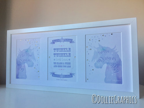 3in1 Unicorn print