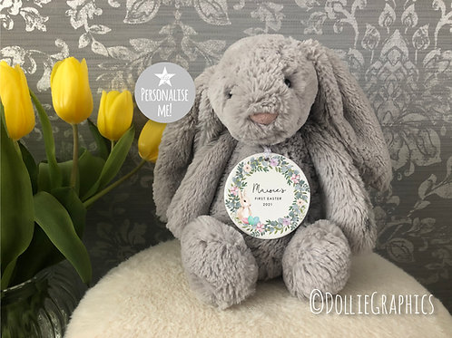 Personalised 1st Easter Hanging Bauble