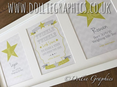 PERSONALISED TWIN PRINT
