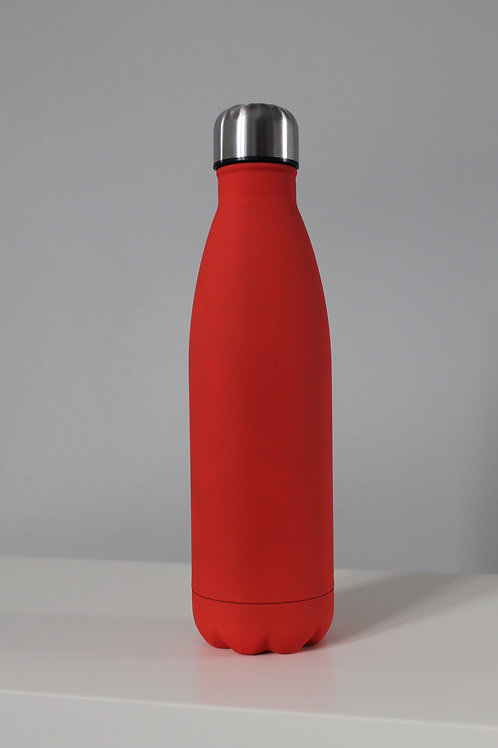 Personalised Red Water Bottle