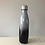 Thumbnail: Personalised Black and Silver Ombre Insulated Bottle