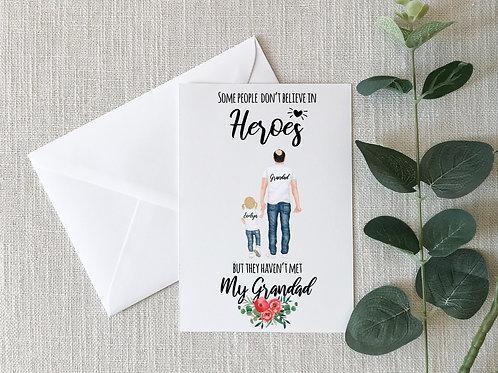 Personalised Grandad Card