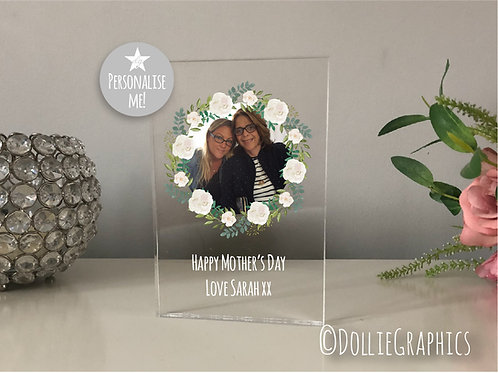Personalised Mother's Day Acrylic Plaque