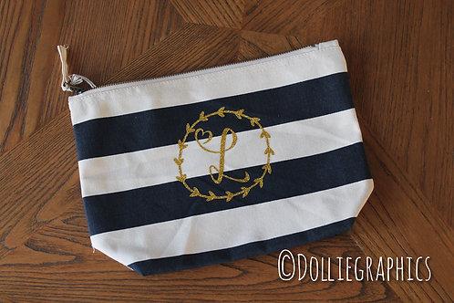 Personalised Nautical Accessory Bag
