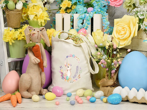 Personalised Easter Egg Hunt Bag