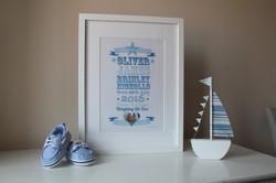 Personalised Newborn Gift