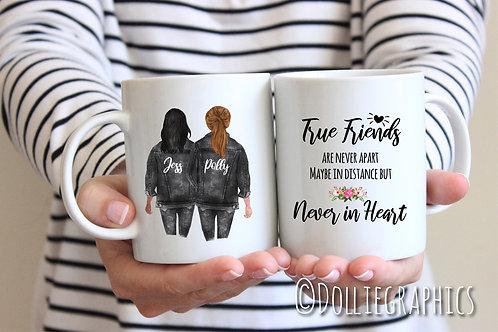 Personalised Friend Mug