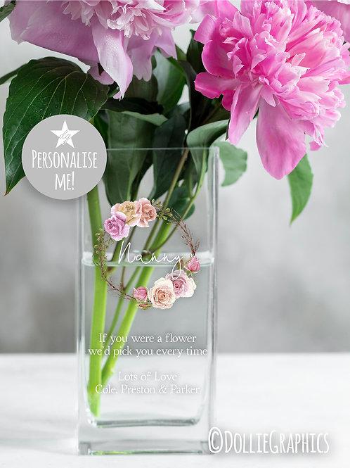 Personalised Vase