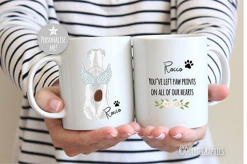 Personalised Dog Remembrance Mug