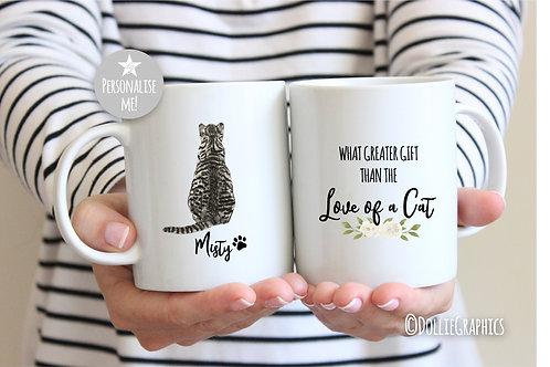 Personalised Cat Quote Mug