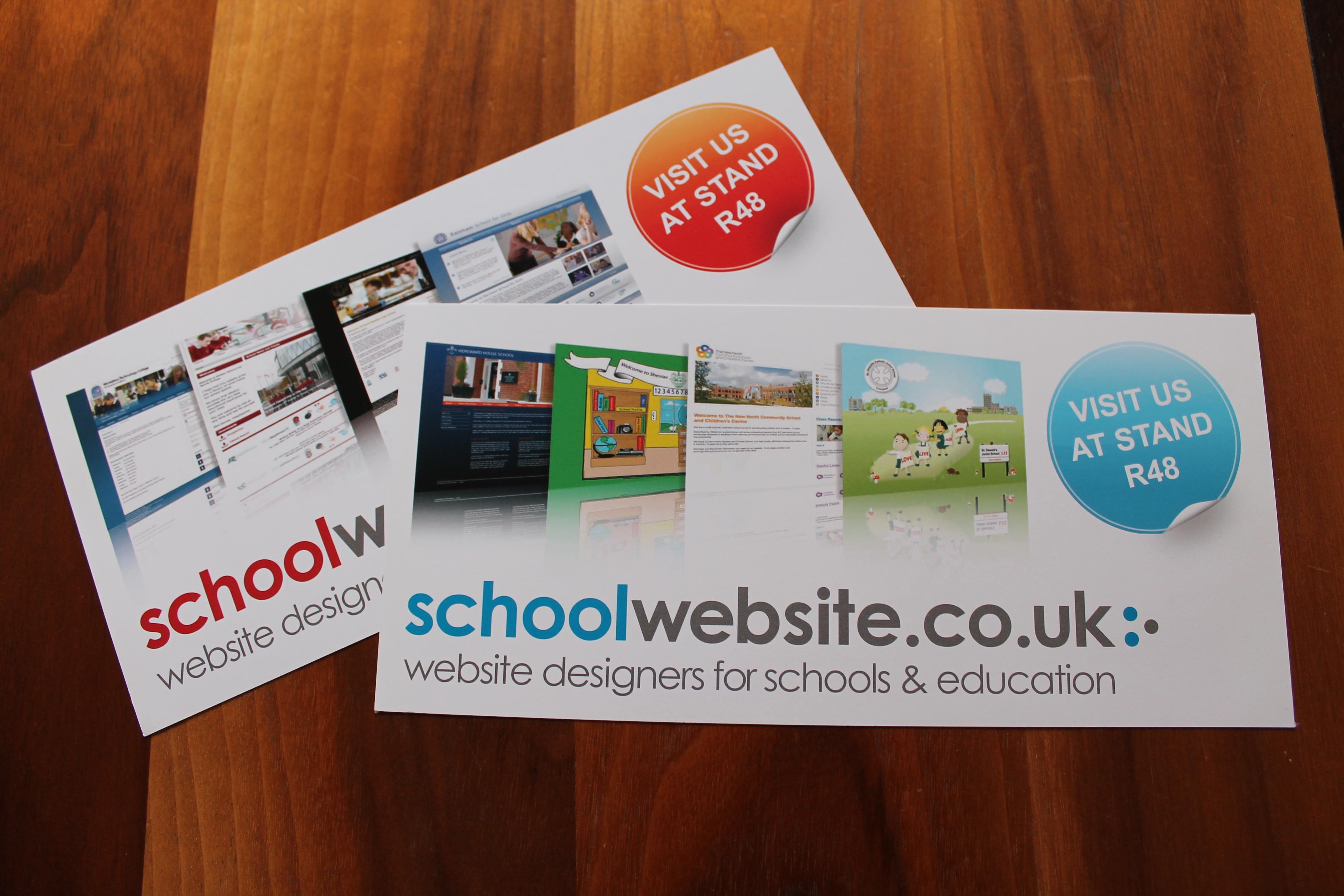 SCHOOL WEBSITE FLYER