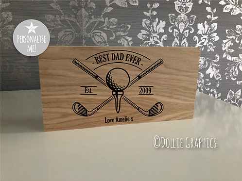 Personalised Golfers Gift