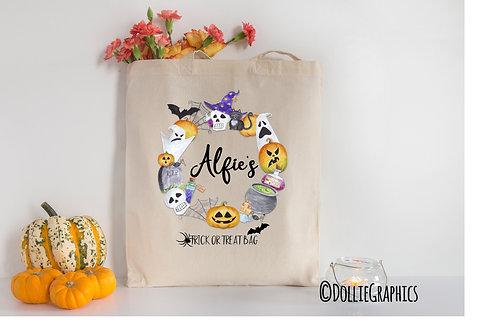Personalised Halloween Bag