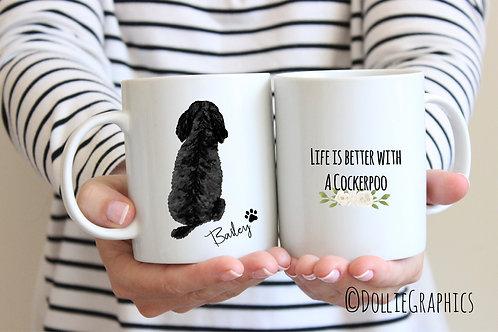 Personalised Dog Quote Mug