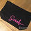 Thumbnail: Personalised Canvas Makeup Accessory Bag
