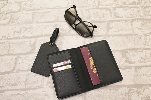 Personalised Passport & Luggage Tag set