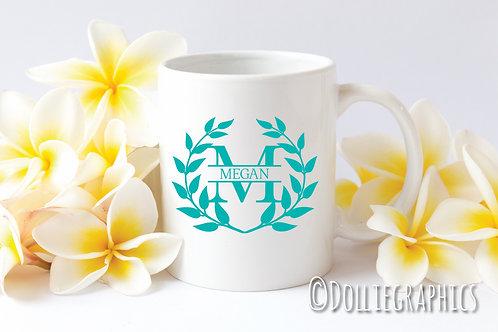 Personalised Initial & Name Cup/Mug
