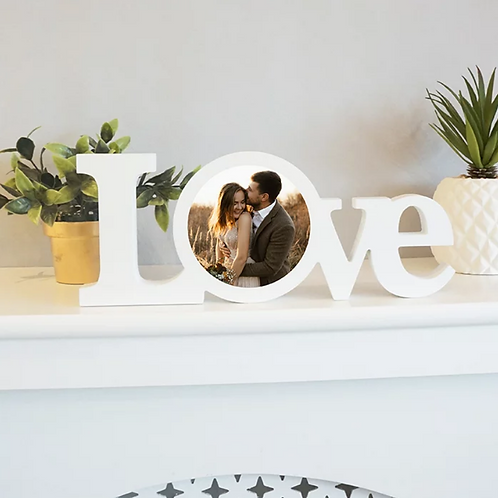 Personalised LOVE Photo Block