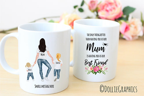 Personalised Mum Mug