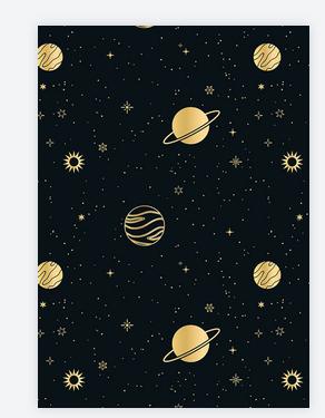 carte planètes