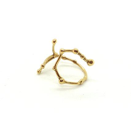 bague or signe zodiaque constellation scorpion créateur perseïdes boutique Cam Le Mac