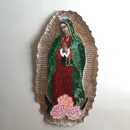 vierge de guadalupe bondieuserie déco murale mexicaine esquipulas boutique cam le mac