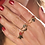 Thumbnail: bagues dorées 4 modèles La Tatoueuse