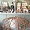 suspension lustre rotin vintage brocante en ligne