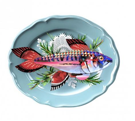 assiette poisson par miho
