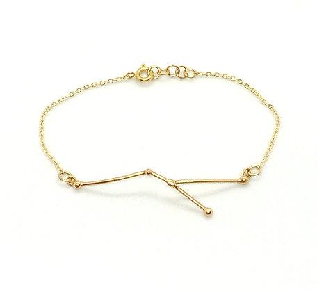 bracelet or signe zodiaque constellation cancer créateur perseïdes boutique Cam Le Mac