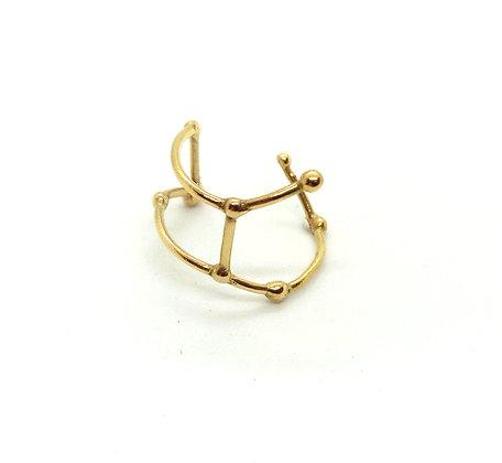 bague or signe zodiaque constellation viergecréateur perseïdes boutique Cam Le Mac