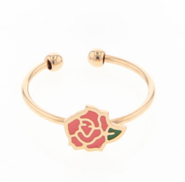 bague dorée rose La Tatoueuse boutique cam le mac