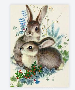 carte lapins