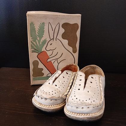 chaussures enfant début XXe pour collectionneurs