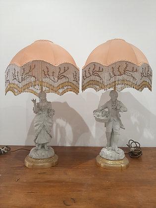 duo de lampes marquis/e