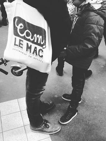 Cam Le Mac tote bag