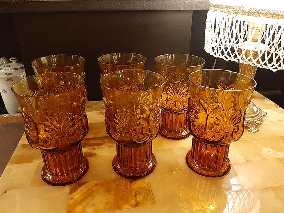 verres ambrés baroque