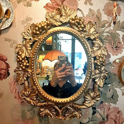 miroir baroque raisin
