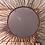 Thumbnail: miroir soleil fer forgé