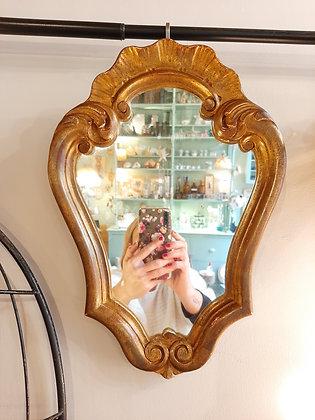 miroir baroque stuc