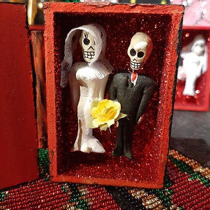 boite amulette calaveras amor eterno mexique porte-bonheur boutique cam le mac
