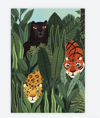 carte jungle 5