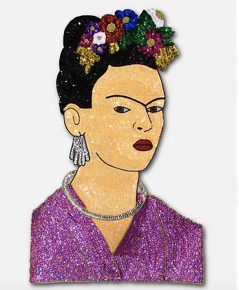 décoration murale frida kahlo paillettes kitsch esquipulas boutique cam le mac