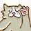 Thumbnail: pin's chat souple coucou suzette