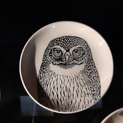 coupelle chouette vide-poche céramique création Stephanie Cahorel boutique cam le mac